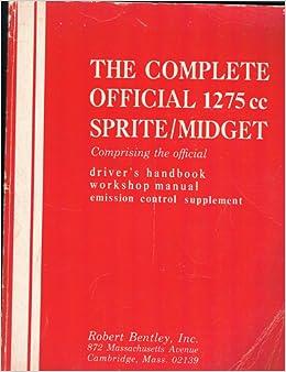 Fukk. Thx Sprite midget workshop manual want