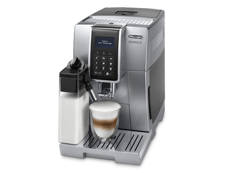 DeLonghi ECAM 350.75.S Cafetera (Independiente, Máquina de café en cápsulas, 1,8 L, Molinillo integrado, 1450 W, Plata): Amazon.es: Hogar