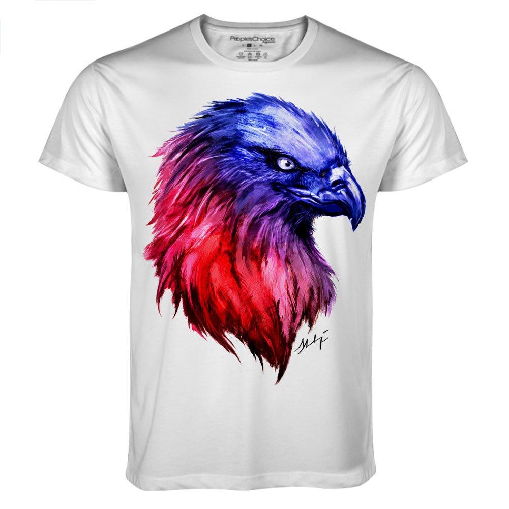 Eagle Head for Mens Tee designed by Ali Simhaq