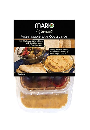 Mario Camacho Foods Mediterranean Hummus Collection, 15.85 Ounce