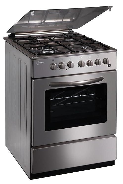 Atlantic cucina a gas con forno elettrico ventilato 60X60 mod.CU6060 ...