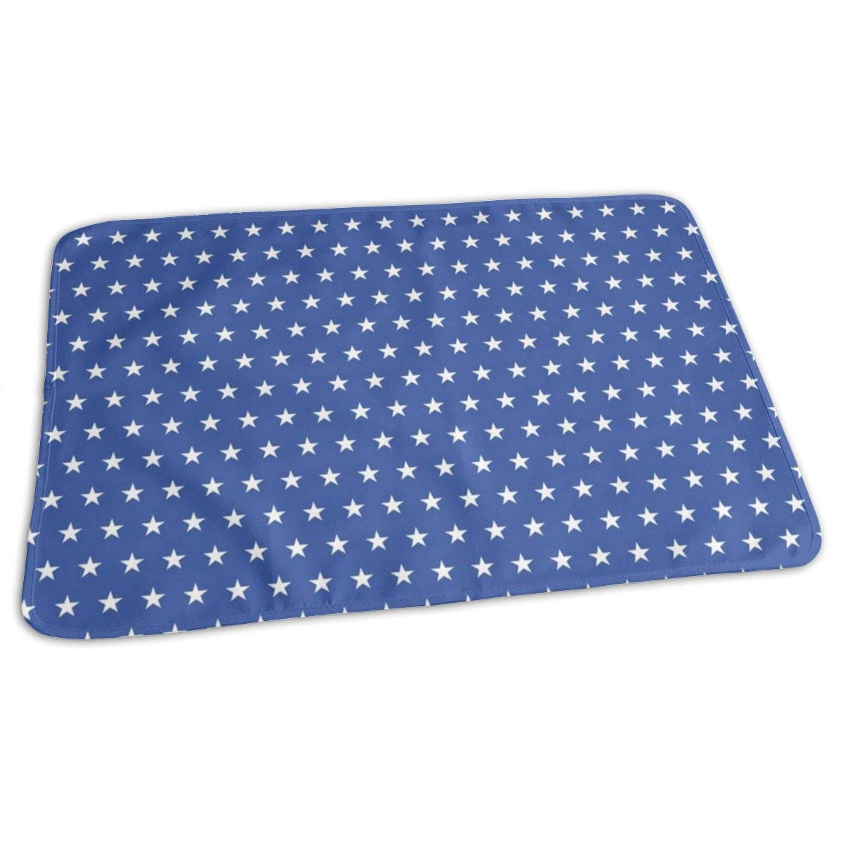 Classic Flag - Tiny Stars Baby Portable Reusable Changing Pad Mat 19.7x27.5 inch