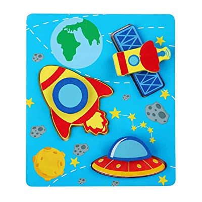 N/X Educational Toys Small Piece Puzzle Toy Children Animals Wooden Puzzles: Toys & Games