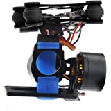 Crazepony Brushless Gimbal GoPro Camera Mount Gimbal Kit for DJI Phantom Hero3+ Hero3