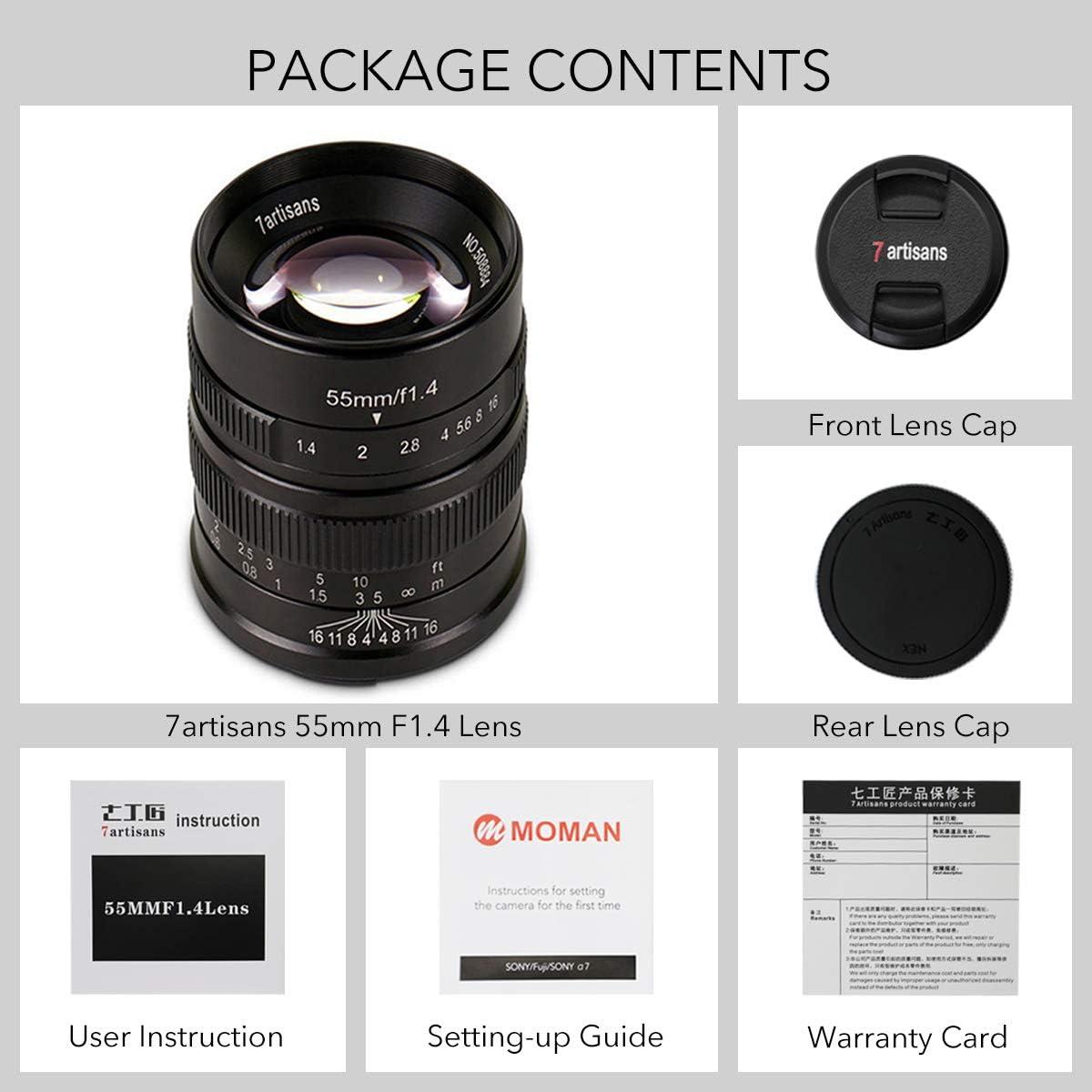 gaixample.org Electronics & Photo Camera Lenses 7artisans 55mm F1 ...