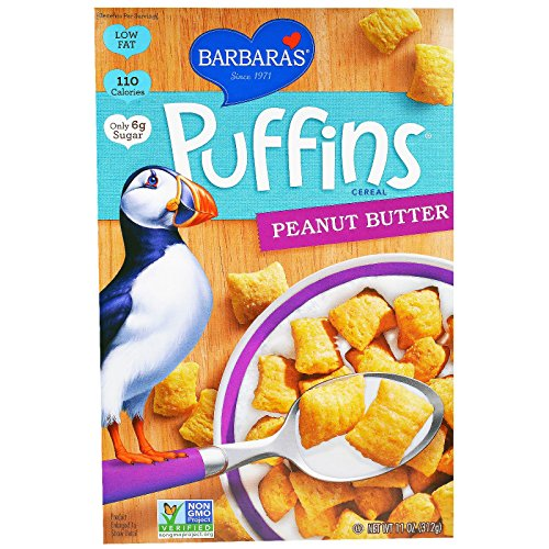 Barbara's Bakery, Puffins Cereal, Peanut Butter, 11 oz (312 g) Barbara's Bakery, Puffins Cereal, Peanut Butter, 11 oz (312 g) - ()