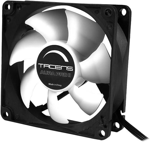 Tacens 3AURAPROII - Ventilador para ordenador (8cm, 1000 RPM ...