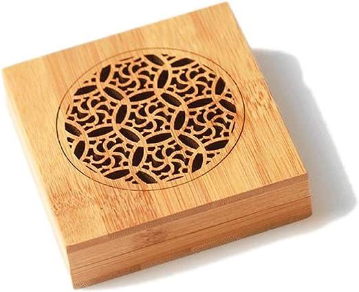 Incensario de bambú Quemador de Incienso de bambú Caja de Incienso ...