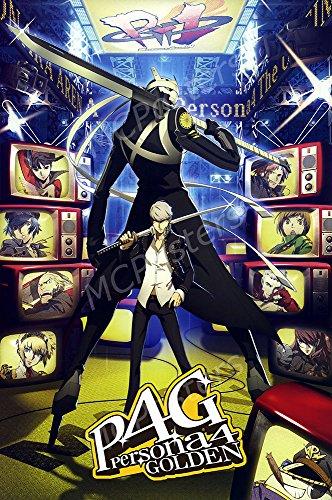 MCPosters - Shin Megami Tensie Persona 4 Golden PS3 PS2 PSP Vita GLOSSY FINISH - NVG080 (24