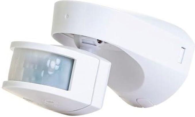 Timeguard slw2300 2300 W – Detector de presencia para control de la iluminación, color blanco