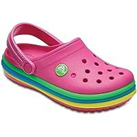 Crocs Unisex Kids CB Rainbow Band Clog