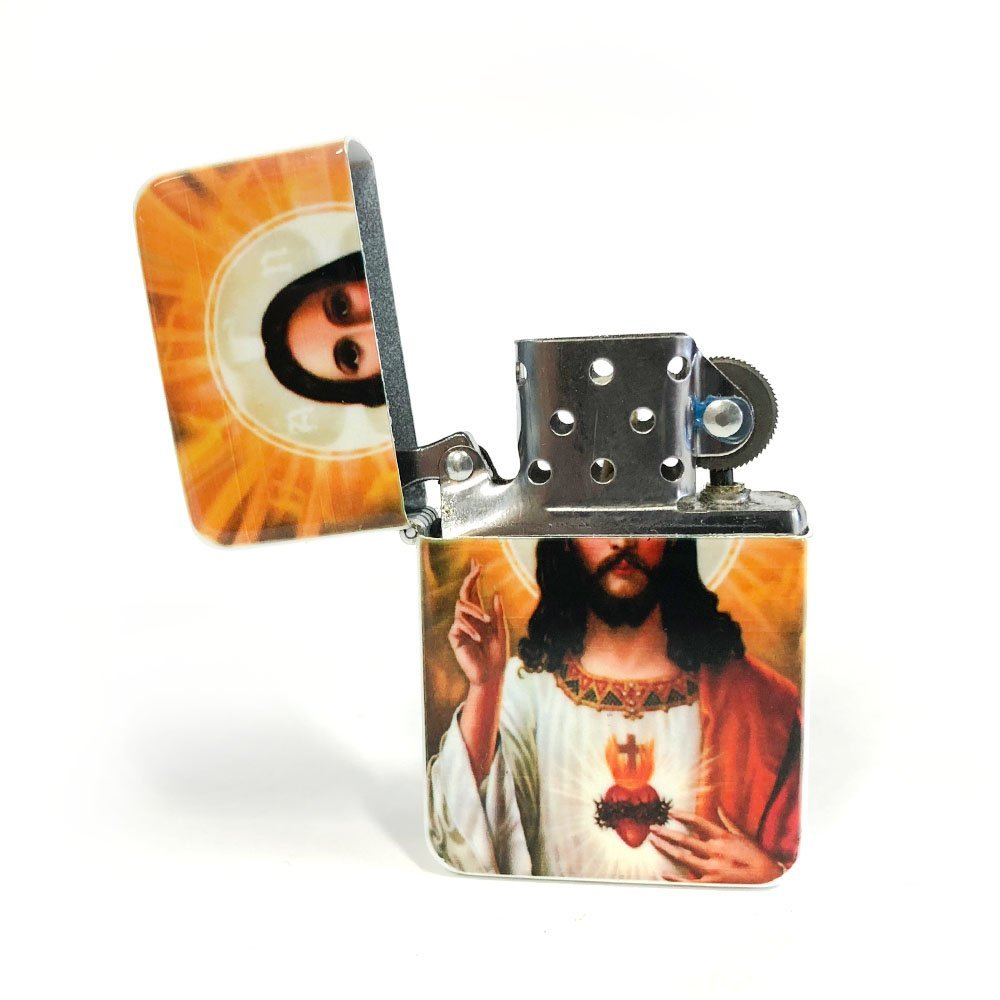 Jesus flip lighter