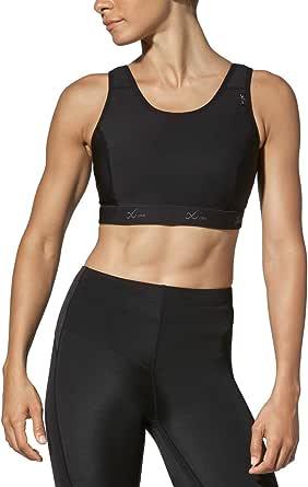 CW-X Women's High Impact Stabilyx Full Figure Sports Bra, womens, 165106, Black, 38DD