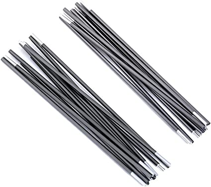5x Spare Tent Pole End Plugs Aluminium Rod Tent Pole Replacement Accessories