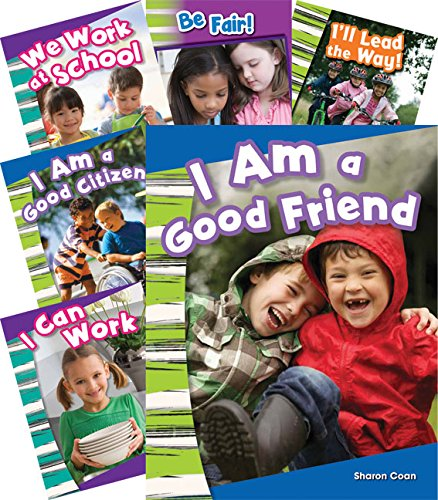 (Teacher Created Materials - Primary Source Readers: Citizenship and Responsibility - 8 Book Set - Grades K-2 - Guided Reading Level A - K)