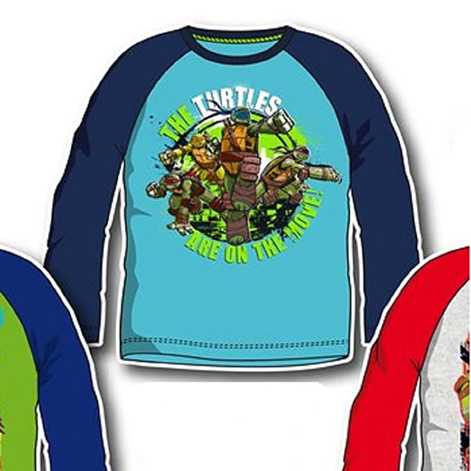 Las Tortugas Ninja - Camiseta Larga Multicolor 4 Años ...