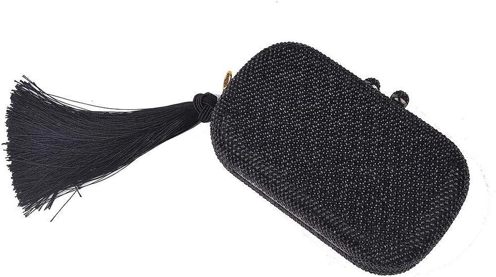 Kathleen Chance Womens Evening Bag Handbag Shoulder Bag for Wedding