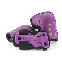 SFR Essentials Triple Pad Set AC760 - Purple Small (Age 4-7)