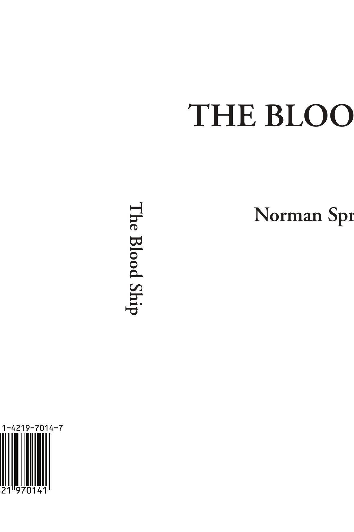 The Blood Ship pdf