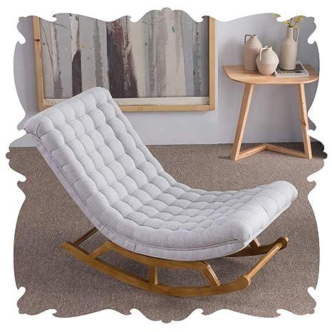 Q.AWOU Mecedora Jardín Relax Muebles Sillones de Interior ...