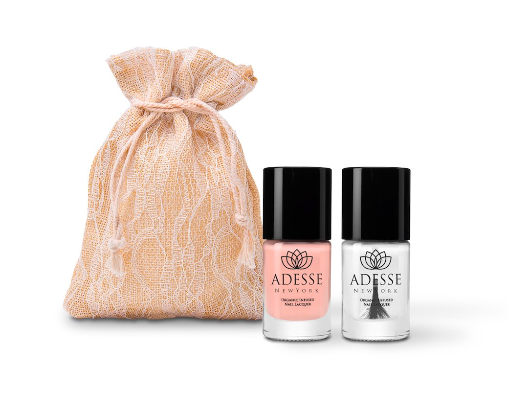 Amazon Com Adesse New York Organic Infused Gel Effect Nail Polish 175 Fifth Avenue 11ml Beauty