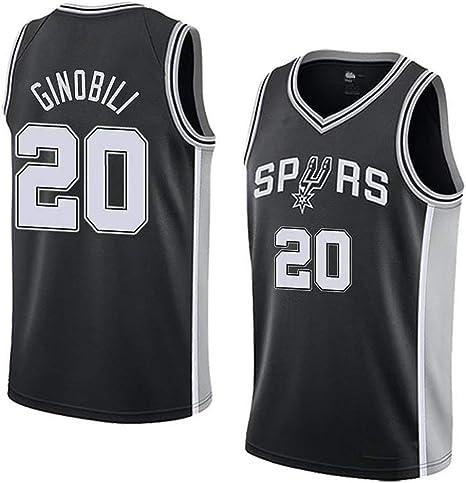 Boruo Nueva Temporada NBA Hombre Jersey,n#20 Ropa de Baloncesto ...