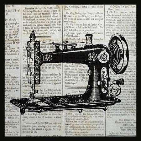 Vintage máquina de coser Por Ballantyne, Piper - Fine Art ...