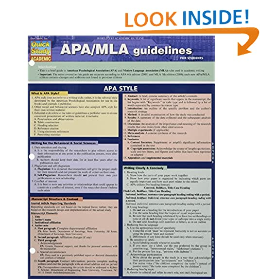 apa style guide amazon com