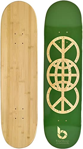 Bamboo Skateboards Graphic Skateboard Deck