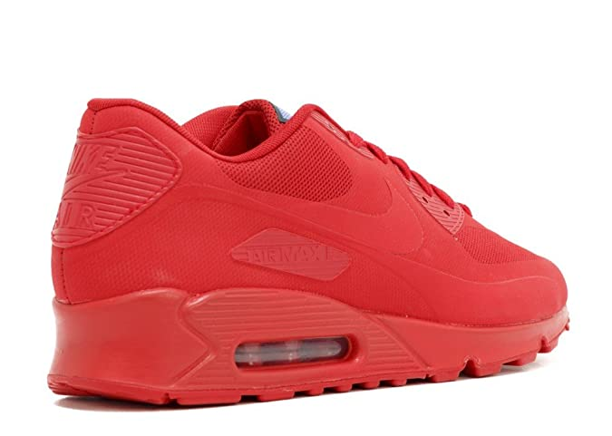 buy popular 45850 788dd Nike Air Max 90 Hyp Qs Sport Red Sport Red 613841-660 10.5  Amazon.co.uk   Shoes   Bags