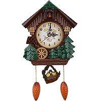 AUNMAS Reloj de Pared de Cuco Artesanía