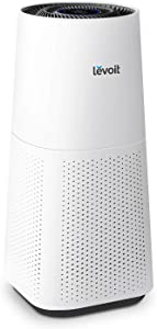 LEVOIT Air Purifier for Home Large Room with H13 True HEPA, Filter for Allergies and Pets Cleaner for Mold, Pollen, Dust, Quiet Odor Eliminators for Bedroom, Smart Sensor, Auto Mode, LV-H134, White