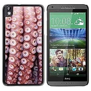 Be Good Phone Accessory // Dura Cáscara cubierta Protectora Caso Carcasa Funda de Protección para HTC DESIRE 816 // Pattern Sea Life Nature Sea Diving