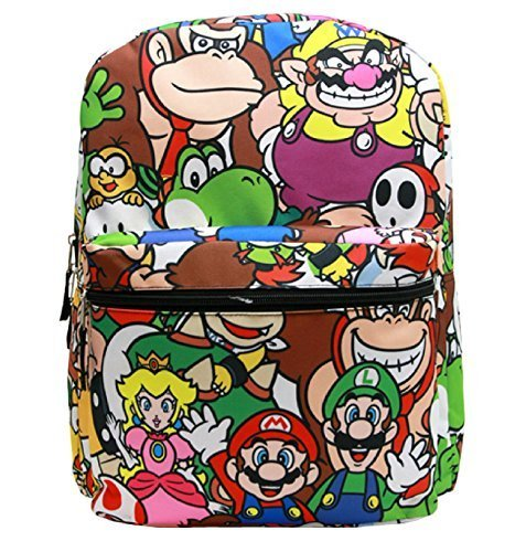 super mario rolling backpack - 7
