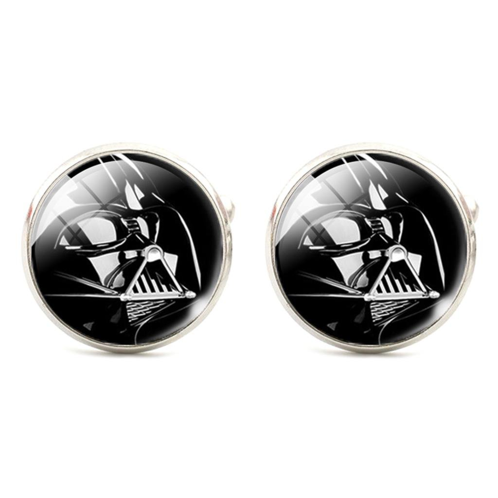Star Wars Darth Vader Cosplay Cufflinks Boutons de Manchette Patch Nation