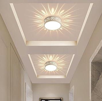 Korridor Deckenleuchte Deckenlampe Scheinwerfer Weiß Projektion LED ...
