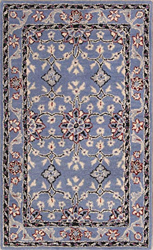 Rug Source Floral Hand-Tufted Oushak Agra Oriental Wool Area Rug 8'x10' - Agra Wool Area Rug