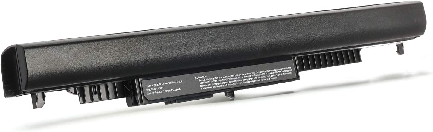 2600mAh HS03 HS04 Laptop Battery Replace for HP 807956-001 807957-001 807612-831 HP 250 255 G4 Notebook 14 15 15g 14g 14-an013nr 15-af131dx HSTNN-LB6U HSTNN-LB6V