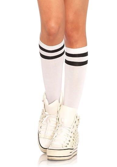 4ca8812b7 Amazon.com  Leg Avenue Womens Athletic Knee Socks  Clothing