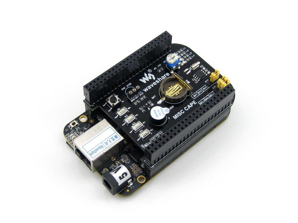 MISC CAPE & USB WIFI & USB Camera & Various Accessories for BeagleBone Black Beagleboard (Beaglebone Rev C) Starter Kit (Pack E) @XYG-Study