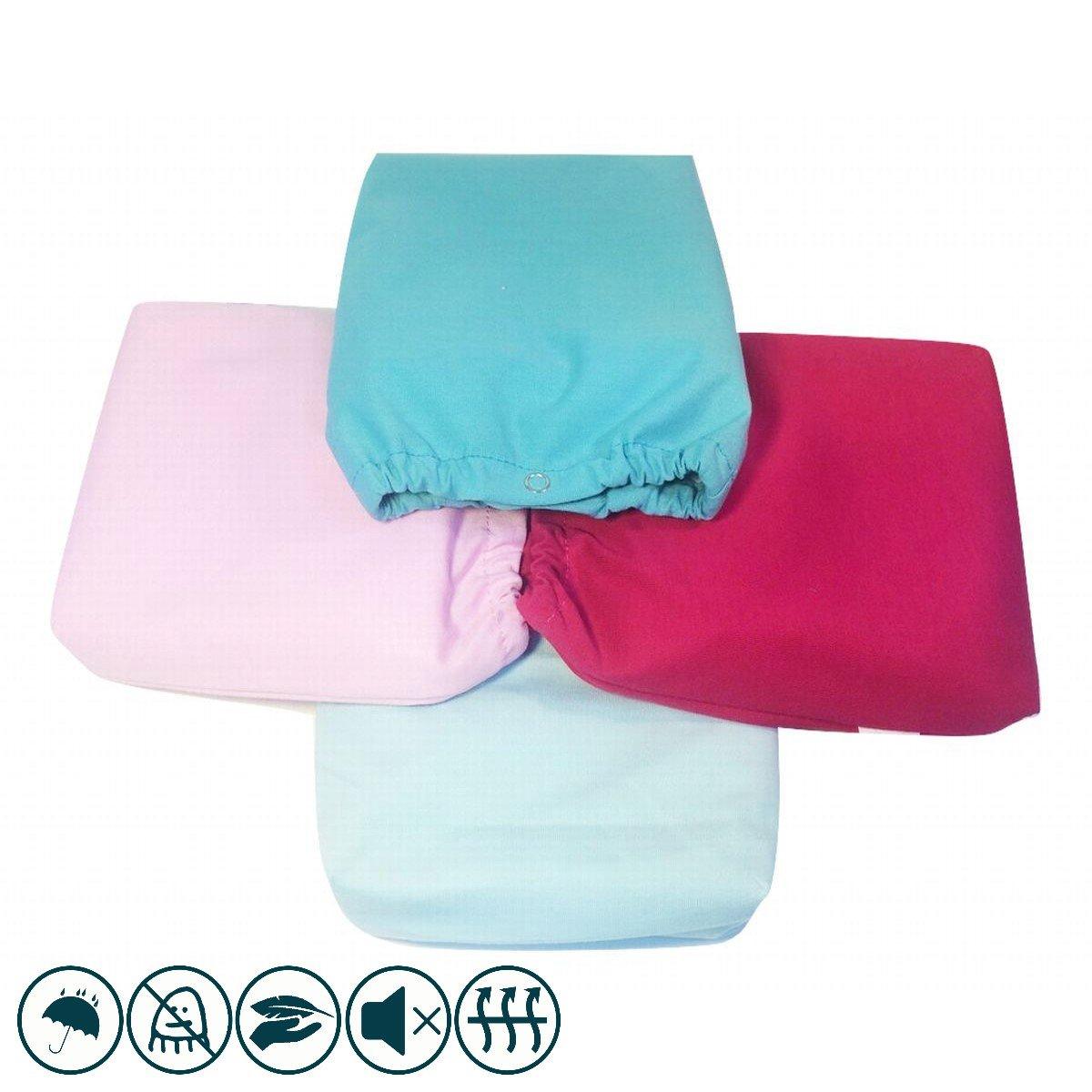 Lingettes lavables Pack 10 - Louis Le Sec + sac de transport Berry Pink Pink touch
