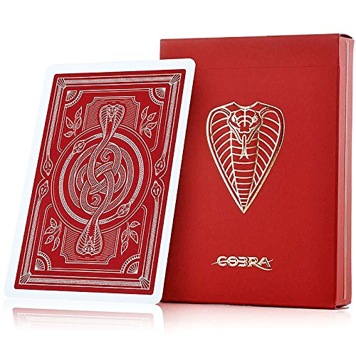 JP GAMES LTD Cobra Playing Cards - A Premium Deck Housed in Luxury -