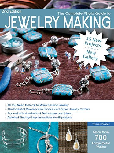 Book Cover: The Complete Photo Guide to Jewelry Making, Revised and Updated: More than 700 Large Format Color Photos