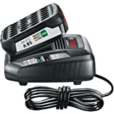 Bosch Lithium-Ion Battery and Charger Starter Set (1 Battery, 18 Volt, 2.5 Ah, DIY)