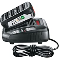 Bosch Lithium-Ion Battery and Charger Starter Set (1 Battery, 18 Volt, 2,5 Ah, DIY)
