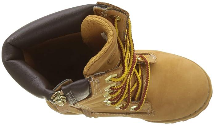 8ba313d7a082 Shoes K Timberland Unisex Kids  Girls Classic Tall Lace U Combat Boots Aslt  Trail Clsc Tall Rubber
