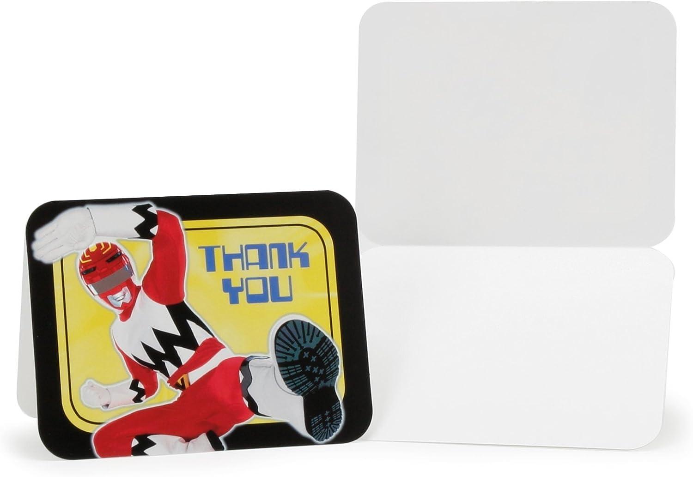 Power Rangers Thank You Notes 8ct Hallmark Marketing Corporation