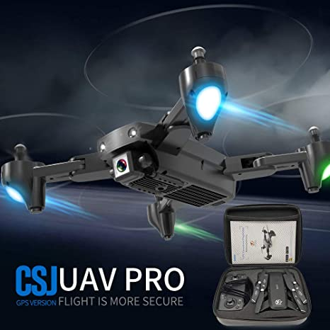Leefly CSJ S166GPS Drone con cámara 1080P Bolso Sígueme Regreso ...