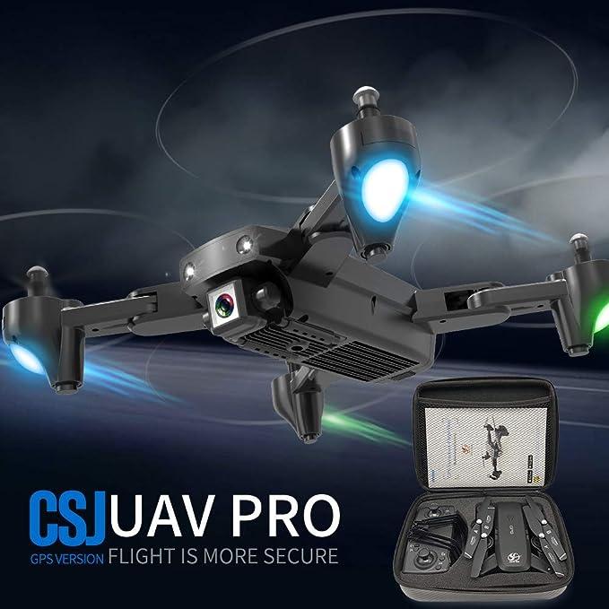 Goolsky CSJ S166GPS Drone con Cámara 720P Sígueme Regreso ...