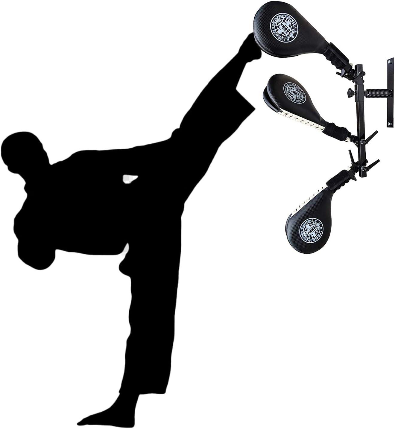 Details about  /Set of 3 Durable Taekwondo Kick Pads Targets for Kickboxing Training